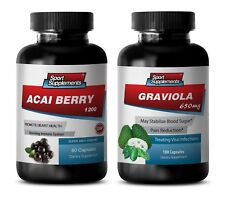 mood support supplements - ACAI BERRY - GRAVIOLA COMBO 2B - acai energy