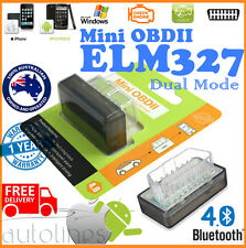 ELM327 OBDII OBD2 Bluetooth Car Diagnostic Wireless Scanner Tool iPhone ANDROID