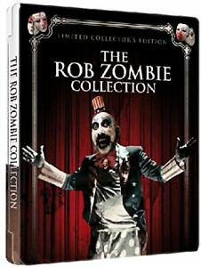 The Rob Zombie Collection (Limited Futurepak Edition, 4 Disc-Set) [Blu-ray]