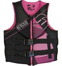 NWT HYPERLITE Womens Black Pink Indy Life Jacket Vest CGA Large