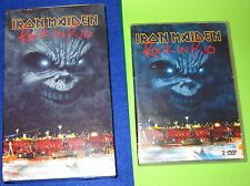 IRON MAIDEN ROCK IN RIO VHS & DVD DOUBLE BOX SET,COLLECTORS ITEM