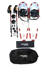 Snowshoes Backpacking Lightweight Aluminum & Hiking Trekking Sticks 21 25 30 36