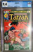 Tarzan Lord of the Jungle #15 Buscema Cover CGC 9.4 Marvel Comics 1978