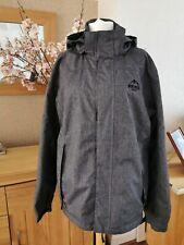 Crivit Northern Summit Outdoor Waterproof Windproof Men's Grey Jacket Size 44 XL