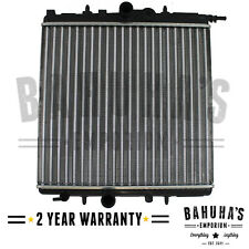 PEUGEOT 206 / 206+ AUTO/MAN RADIATOR 98-ON 380mm X 415mm CORE 8mm OVERFLOW PIPE