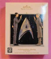 2012 Hallmark Keepsake Christmas Ornament An Extraordinary Meeting Star Trek