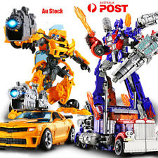 Transformers Autobots Optimus Prime Ironhide Bumble Bee Action Figures Toy Robot