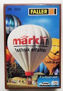 Faller HO 1004 Hot Air Balloon Märklin 1:87 Heissluftballon NEW Discontinued