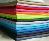 Plain Solid 100% Cotton Fabric Quilting Sewing Craft Patchwork Cloth BY-The Yard