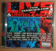 Live & Unreleased from Farmclub.com CD - Various Artists. 2002