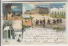 Kleinformat Militär & Kriegs Lithographien vor 1914