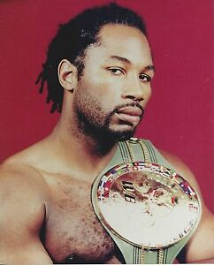 LENNOX LEWIS 8X10 PHOTO BOXING PICTURE CLOSE UP
