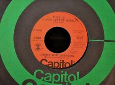 Jimmy Witherspoon Capitol 3998 Love is A Five Letter Word