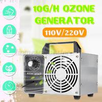 Portable Ozone Generator 10g/h Ozonizer Air Water Purifier Sterilizer Treatment