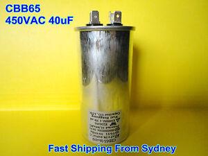 CBB65 450VAC 40uF Air Conditioner Appliance Motor Run Capacitor **NEW**