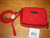 Vera Bradley ON THE SQUARE WRISTLET CROSSBODY all in one wallet  iPhone 6  7 8