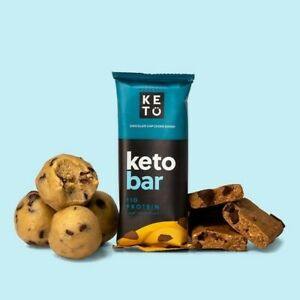 Perfect Keto Bars - Chocolate Chip Cookie Dough (6 x 45G)