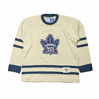 Toronto Maple Leafs Vintage Heritage CCM Classic Jersey Sweater MENS Large