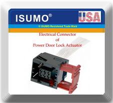 Electrical Connector of Power Door Lock Actuator Fits: GM Vehicles 2003-2016