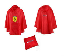 Scuderia Ferrari F1 Formel 1 Regenschutz Rain Poncho Regenhaube Regenjacke NEU