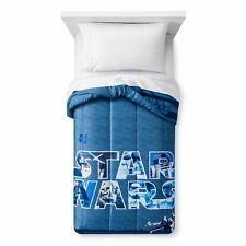 "Star War Microfiber Twin Comforter 64""x 86"" NEW"
