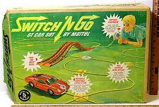 Vintage 1965 Switch 'N Go GT Car Set Mattel #6111 Bridges Hoses Air Pump Car +++