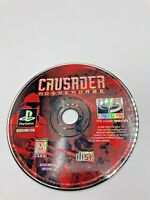Sony PlayStation 1 PS1 PSOne Disc Only Tested Crusader No Remorse Ships Fast