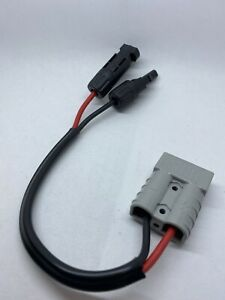 Anderson style plug to Mc 4 Solar Fittings 50amp 6mm² cable