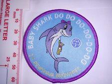 Girlguiding  Brownie Guide Senior Section Rangers Baby Shark  Cloth Badge