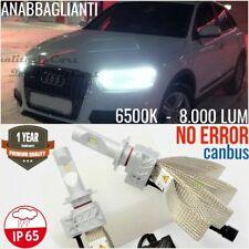 Kit Lampade ANABBAGLIANTI LED H7 AUDI Q3 8u CANBUS 6500K Bianco Ghiaccio Luci
