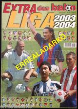 DON BALON EXTRA LIGA FUTBOL 2003-2004