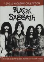 BLACK SABBATH NOT SO PARANOID 2 DVD + MAGAZINE BOX SET NEW SEALED OZZY OSBOURNE