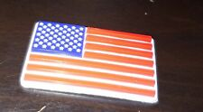 3d Bumper Full Size Helmet Colored Flag