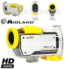 Midland XTC260 HD Ready Waterproof Digital Video Action Camera Camcorder