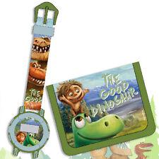Set Orologio Digitale Portafoglio Bambini Disney a Good Dinosaur Accessori