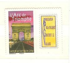 TIMBRE FRANCE PERSONNALISE 3599B ADHESIF ARC DE TRIOMPHE
