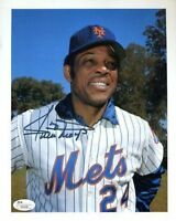 Willie Mays Vintage Signed Jsa Certed 8x10 Photo Autograph Authentic