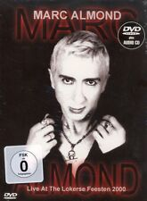 DVD MIT AUDIO-CD NEU/OVP - Marc Almond - Live At The Lokerse Feesten 2000