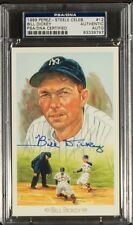 BILL DICKEY Signed 89 Perez Steele Postcard PSA/DNA YANKEES Hall of Fame AUTO