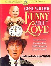 FUNNY ABOUT LOVE (Gene WILDER Mary Stuart MASTERSON) Comedy Film DVD NEW Reg 4