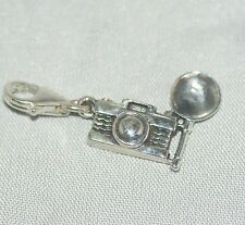 Camera [ 925 Sterling Silver ] Charm