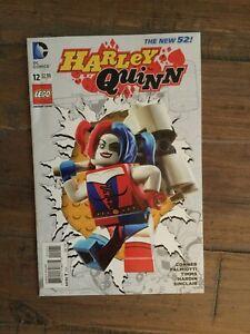 Harley Quinn (2014) # 12 VF.  Variant Lego Cover!