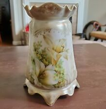 RS Prussia Sugar Shaker with Easter Lily Decor