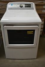 """Ge Gtd72Ebsnws 27"""" White Front-Load Electric Dryer Nob #60879"""