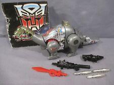 Transformers G1 Dinobot SLUDGE 100% Complete VINTAGE 1985 Hasbro