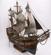 Antikes Segelschiff / Schiffsmodell / Modellschiff / Holzarbeit / Handarbeit #V6
