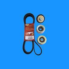Drive Belt & Tensioner Idler Pulley kit For Petrol Toyota Hilux TGN16 / 121 2005