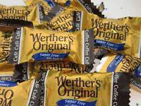 Werther's Sugar Free Caramel Coffee 8oz Werthers Creamy Hard Candy 1/2 lb BFR