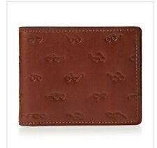 Fossil Bifold Men's Leather Wallet in Brown. With presentation case.