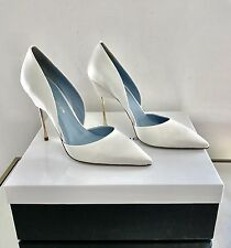 Kurt Geiger London Bond White Bridal Slim Heel Court Shoes Size 5 38 RRP £295